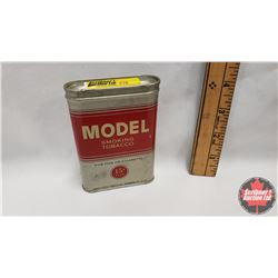 """Model Smoking Tobacco for Pipe or Cigarette 15¢ Size Tin (Full) (1-1/4"""" x 3"""")"""