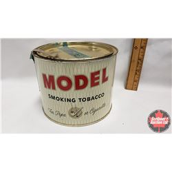 """Model Smoking Tobacco for Pipe or Cigarette Tin (Full) (4-1/4"""" x 5-1/2"""")"""