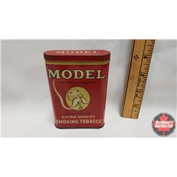 """Model for Pipe or Cigarette Mild - Mellow Extra Quality Smoking Tobacco Pocket Tin (4-1/2"""" x 3"""")"""