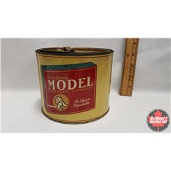 """Extra Quality Model Smoking Tobacco for Pipe or Cigarette Tin (4-1/4"""" x 5-1/2"""")"""
