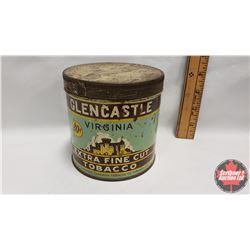 "GlenCastle Extra Fine Cut Tobacco 80¢ Tin (4-1/4"" x 4-1/4"")"
