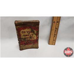"De Voe's Makings Sweet Smoke Pocket Tin (4-1/4"" x 3"")"