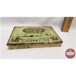"Dixie Cigarettes Tin (5-3/4"" x 3/4"" x 4-1/4"")"