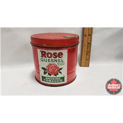 "Rose Quesnel Tobacco Tin (4"" x 4-1/4"")"