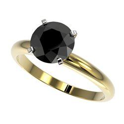 0.88 ctw VS/SI Diamond 2pc Wedding Set 14K Yellow Gold