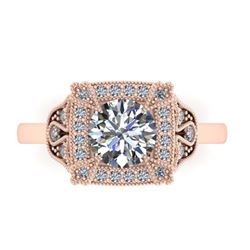 4.50 ctw Tanzanite & Diamond Ring 14K White Gold