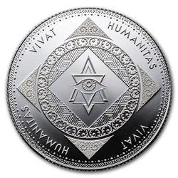1 oz Silver Round - Vivat Humanitas (Prooflike)
