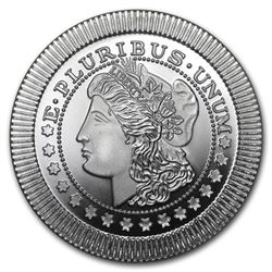 1 oz Silver Round - SilverTowne Morgan Dollar Stackables