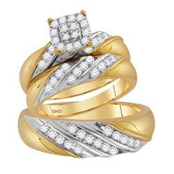 14kt White Gold Round Diamond Wedding Anniversary Band Ring 1/6 Cttw