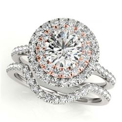 2.55 ctw H-SI/I Diamond Ring 10K Yellow Gold