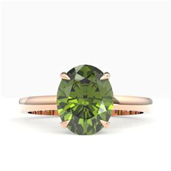 0.76 ctw VS/SI Diamond Halo Ring 14K Yellow Gold