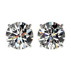 35.24 ctw Sky Topaz & Diamond Earrings 14K Rose Gold