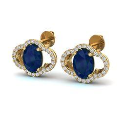 2 ctw Citrine & VS/SI Diamond Ring 18K Yellow Gold