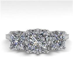 31.96 ctw Morganite & Diamond Halo Necklace 10K White Gold
