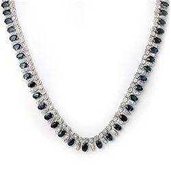 6.47 ctw Sapphire & Diamond Ring 14K Yellow Gold