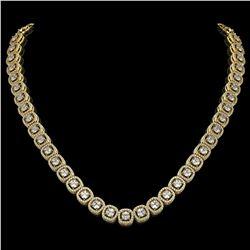 8.84 ctw Sapphire & Diamond Earrings 14K Yellow Gold