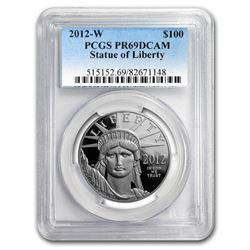 2012-W 1 oz Proof Platinum Eagle PR-69 PCGS