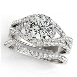 41.63 ctw Emerald & Diamond Necklace 14K Rose Gold