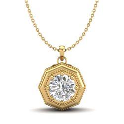 10.81 ctw Ruby & Diamond Pendant 18K White Gold