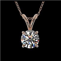 1.03 ctw H-SI/I Diamond Stud Earrings 10K Rose Gold