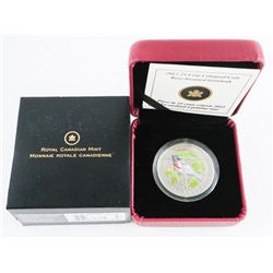 RCM 2012 - 25 Cent Coloured Coin 'Rose Breasted Gr