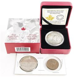 First Royal Visit to Canada 1939 .9999 Fine Silver