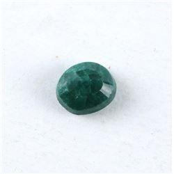 Loose Gemstone 3.26ct Oval Cut Emerald TRRV: $980.