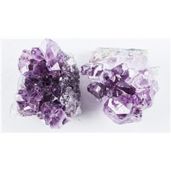 Group of (2) Amethyst in the Rough (ER)