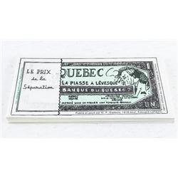 Estate Lot 'Quebec' Fun Notes