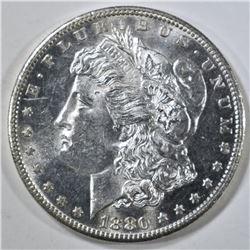 1880-S MORGAN DOLLAR, CH BU