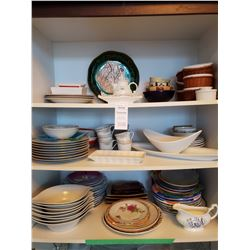 White Serving Dishes & More A
