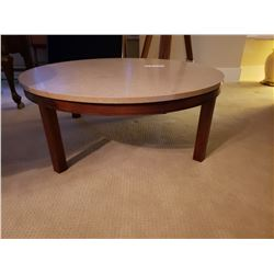 Round Marble Top Coffee Table C