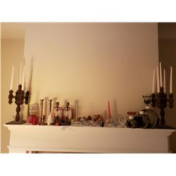 Assortment of Candle Holders A