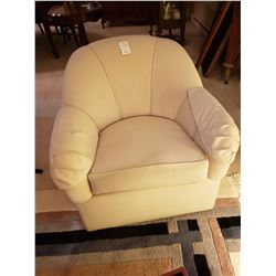 Ethan Allen Swivel Tub Chair C