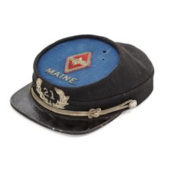 GAR Officer's Kepi for the 21st Maine Regt.