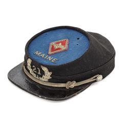 GAR Officer's Kepi for the 21st Maine Regt.
