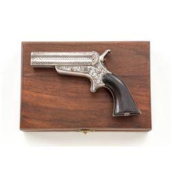 Eng'd Sharps & Hankins Model 3B Pepperbox Pistol