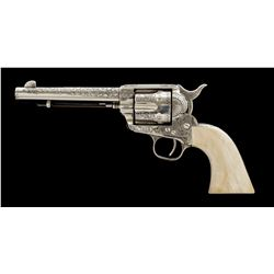 Engraved 1st Gen. Colt Single Action Army Revolver