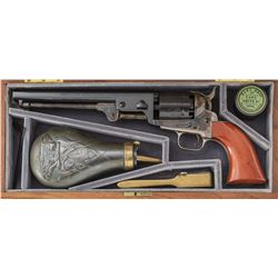 Cased Colt 2nd Gen. Robt.E.Lee 1851 Navy Revolver