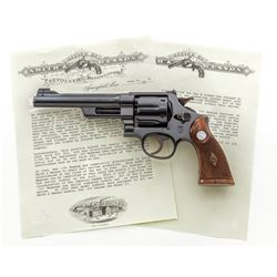 S&W Pre-War Reg'd Magnum Double Action Revolver