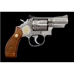 Angelo Bee Eng'd S&W 66-1 Revolver