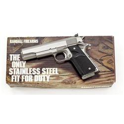 Randall Firearms Service Model Semi-Auto Pistol