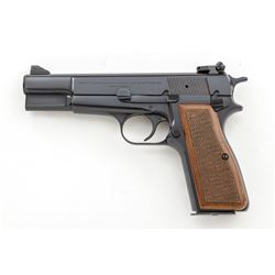 Belgian Browning Hi-Power Semi-Auto Pistol