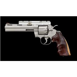 Stainless Colt Python Double Action Revolver