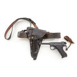 Swedish Model 40 Lahti Semi-Automatic Pistol
