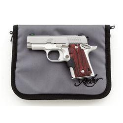 Kimber Micro 9 Pistol, w/Crimson Trace grip