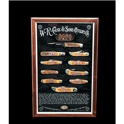 Framed Ltd. Ed. Case Knife Mint Set