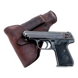 Sauer & Sohn Model 38H Semi-Auto Pistol