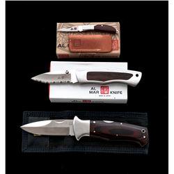 Lot of 3 New 1st Prod. Al Mar Knives