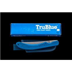 Buck Model 539 TruBlue Sawby-Lock Filet Knife